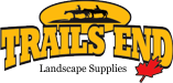 Trails End Landscape Supplies Sticky Logo