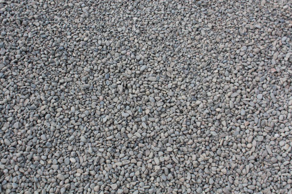 Pea Gravel Dry