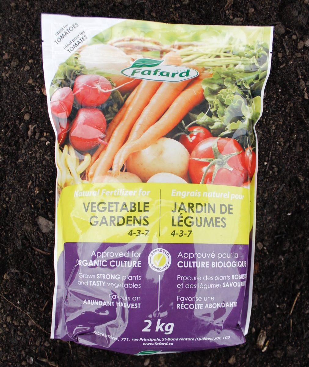 Vegetable Garden Natural Fertilizer 2kg